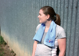 cooling products for equines and riders neck towel